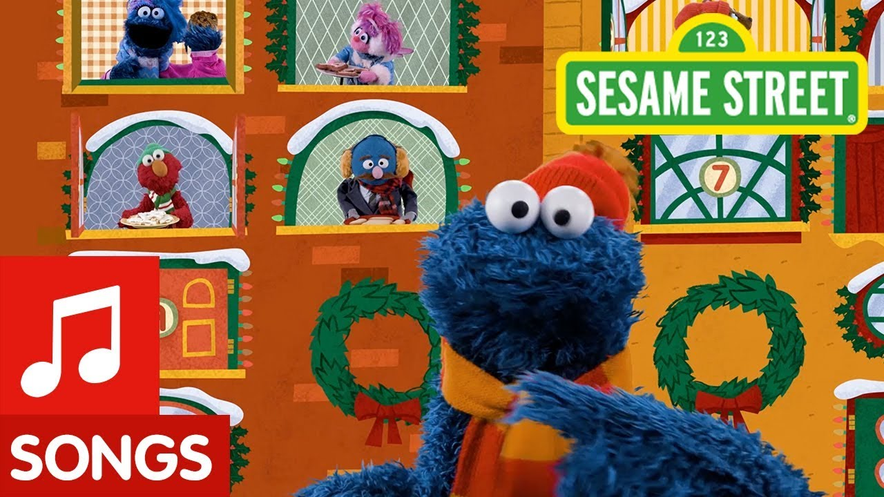 Sesame Street 12 Days Of Christmas Cookies