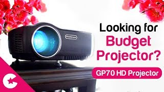 looking For Budget LED Projector? GP70 Portable Full HD Projector (Unboxing & Review)