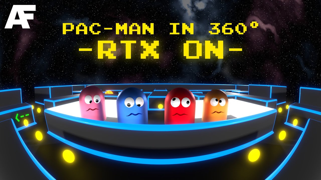 Pac-Man in 360° — RTX ON