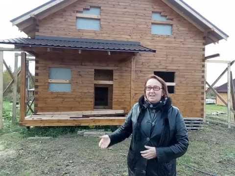Построенный дом из бруса в Ярославле | СК Костромские Терема