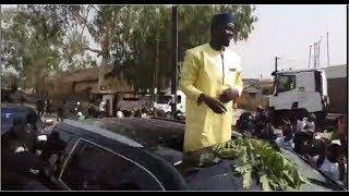 Campagne présidentielle 2019: L'arrivée de Ousmane Sonko à Casamance