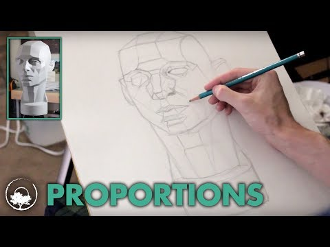 Drawing the Asaro Head - Drawing Session #01