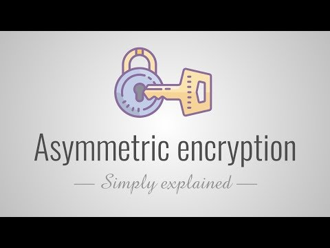 Asymmetric encryption - Simply explained