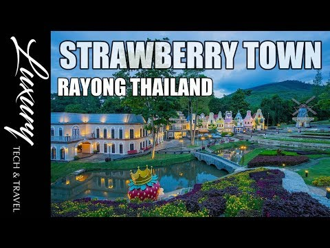 Strawberry Town Tourist Attraction Rayong Thailand