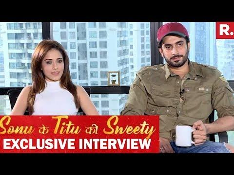Nushrat Bharucha & Sunny Nijar On Success Of Sonu Ke Titu Ki Sweety | Exclusive Interview