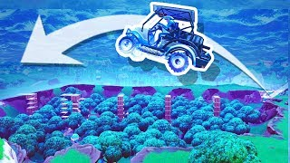 Jumping Over Dusty Divot in a Fortnite Kart!!