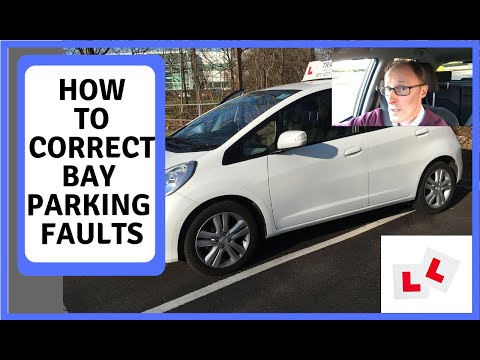 How to correct bay parking faults