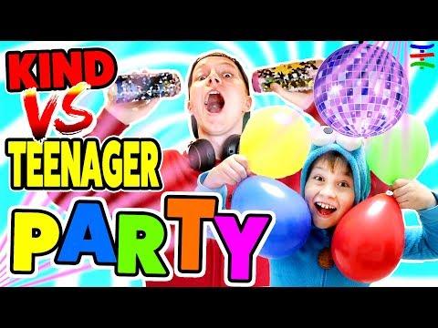 KIND vs. TEENAGER PARTY 🤣 KRASS TipTapTube