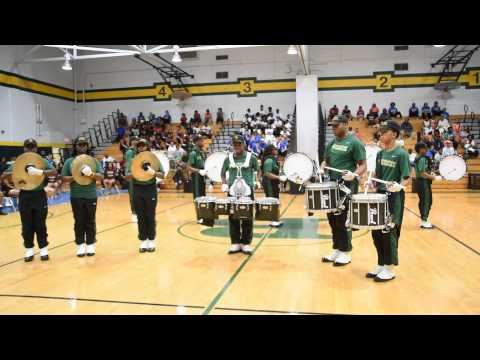 Greensville County High School Drumline @ Bethel 2015