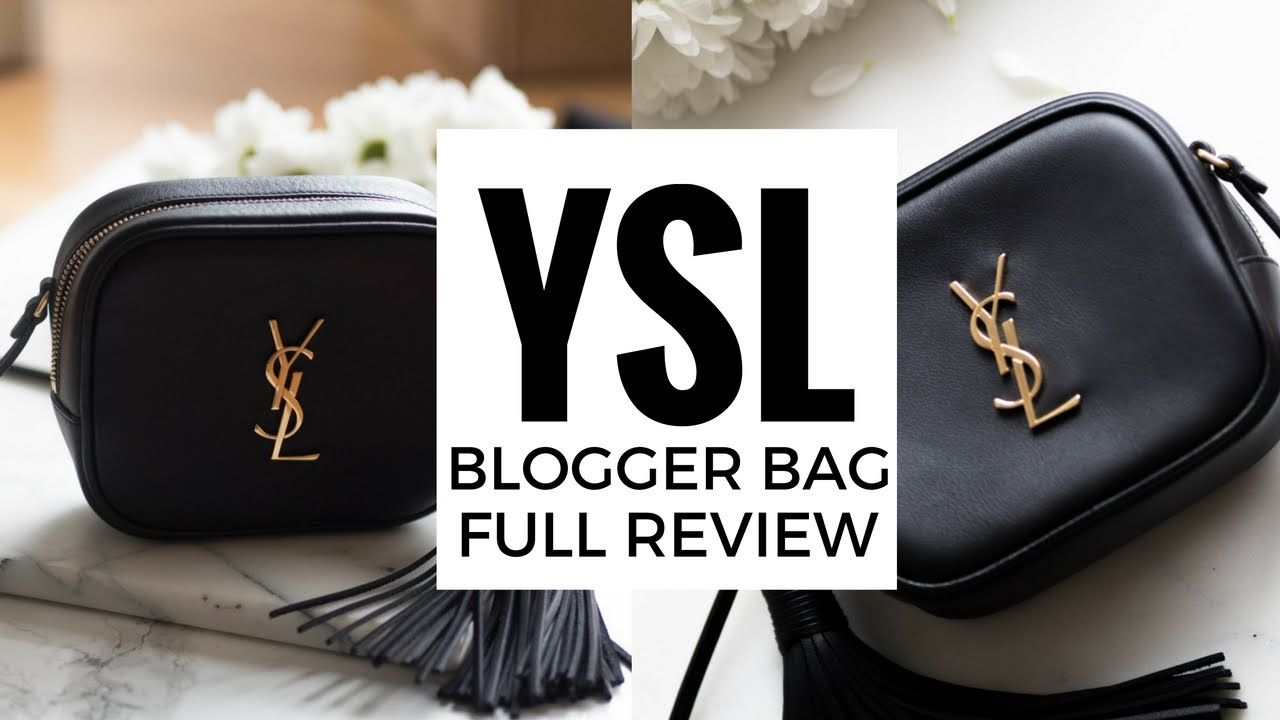 YSL BLOGGER BAG  FULL REVIEW   What fits inside   How to get a €200+  DISCOUNT!!  21043999e32f7