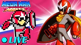 We Play Your MegaMAN Maker Levels LIVE! #36