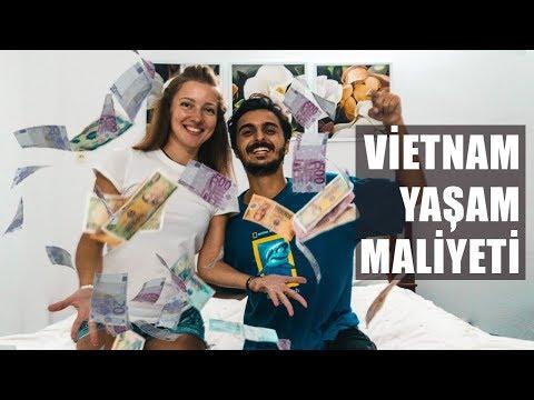 Vietnam'da MİLYONER OLDUK - (1 Dolar 23000 Dong)