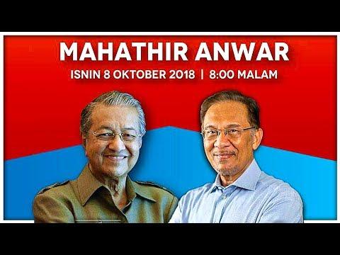 [🔥LIVE🔥] PRK PORT DICKSON : TUN DR MAHATHIR VS ANWAR IBRAHIM (8/10/2018)