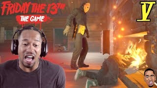 JASON STOMPED ME OUT!! Friday the 13th Gameplay #5