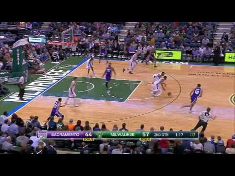 Sacramento Kings vs Milwaukee Bucks | November 5, 2016 | NBA 2016-17 Season