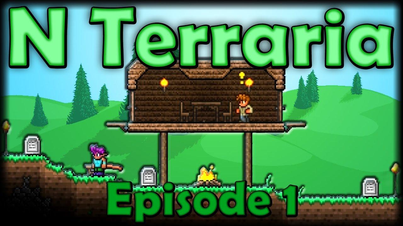 N Terraria Mod - Episode 1 - The Elder Terrarians: SwagLands
