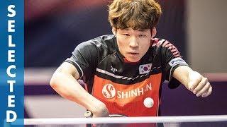 Jang Woojin vs Robin Devos (TTBL Selected)