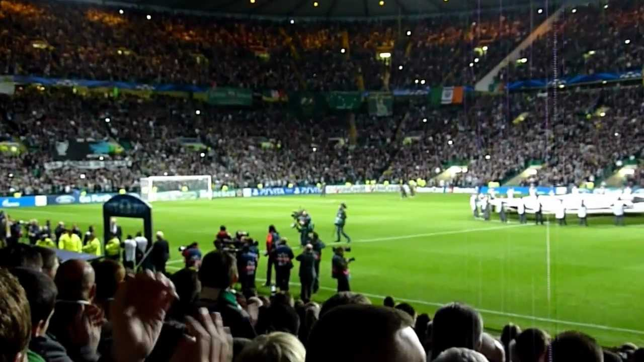 Epic Atmosphere Celtic Park Where The Champions League Is Back 19 09 2012 HD