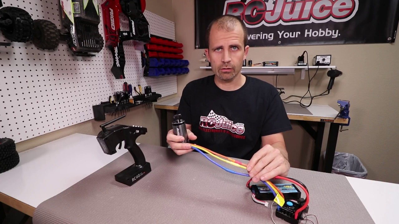 What Order Do Wires Go On A Brushless Motor