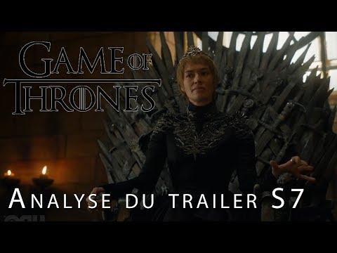 GAME OF THRONES : Analyse du premier trailer de la saison 7