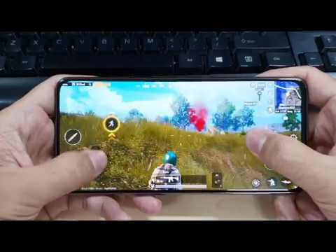 Test Game PUBG Mobile On SamSung Galaxy A80