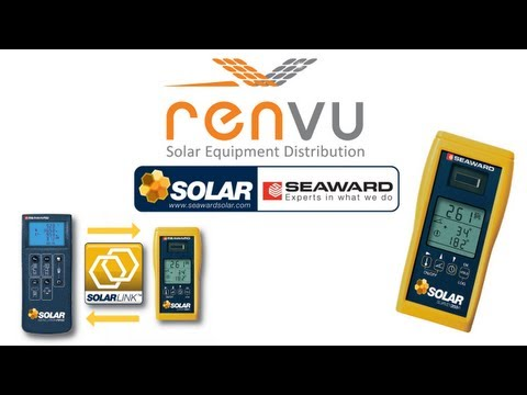 SEAWARD Solar Survey 200R Multifunction Solar Irradiance Met