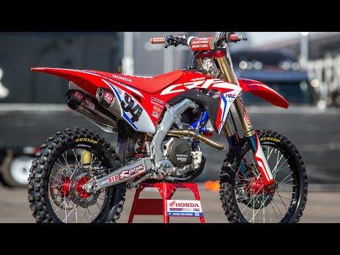 Inside Ken Roczen's Factory Honda CRF450 - Motocross Action Magazine