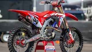 Inside Ken Roczens Factory Honda CRF450 - Motocross Action Magazine