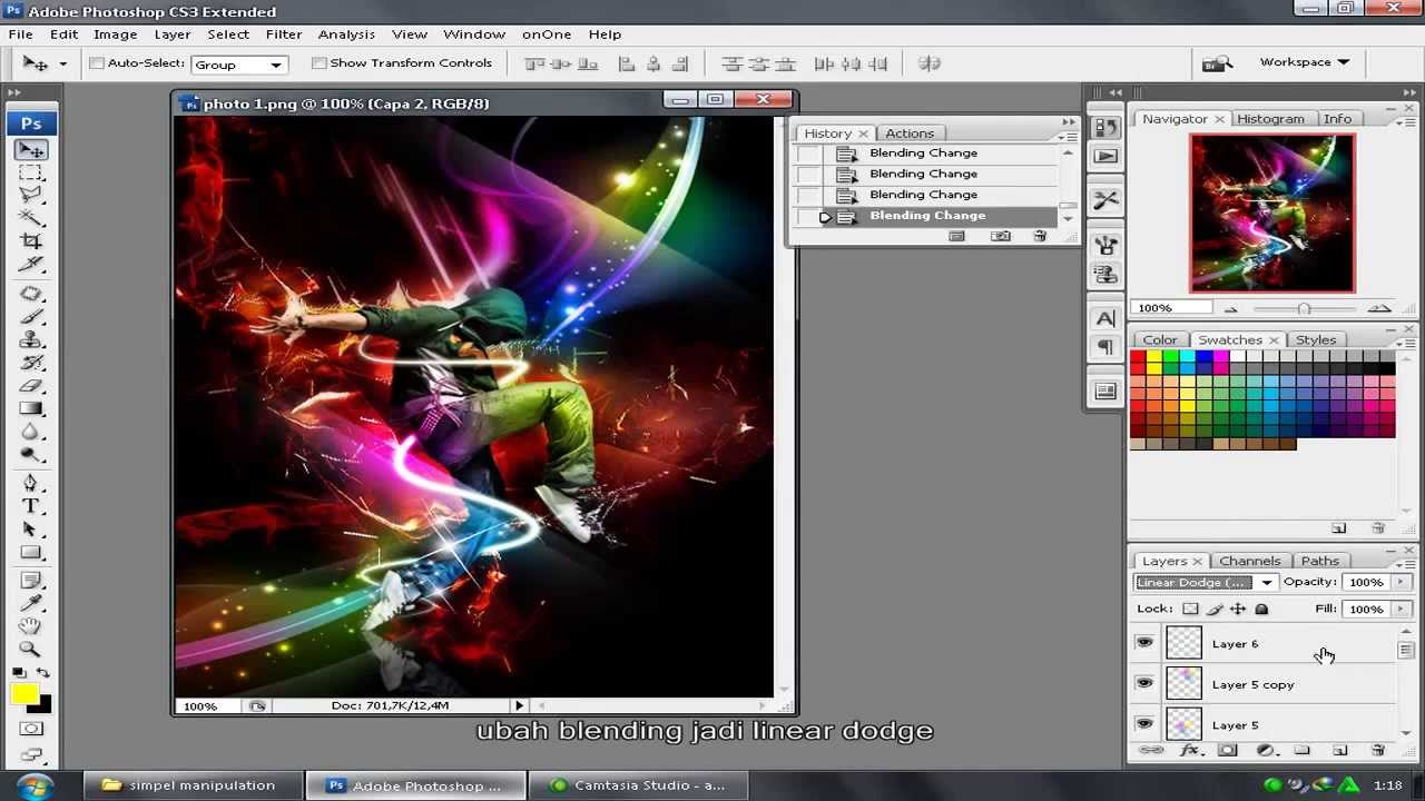Tutorial photoshop cs3 bahasa indonesia permainan cahaya light tutorial photoshop cs3 bahasa indonesia permainan cahaya light effects youtube baditri Choice Image