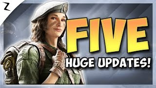 5 Huge Updates! Year 4 News! - Rainbow Six Siege