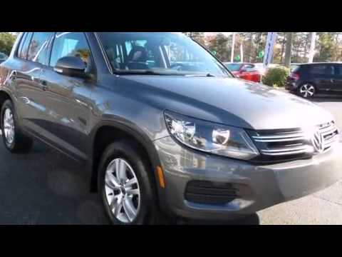 2012 Volkswagen Tiguan S w/Sunroof and Bluetooth