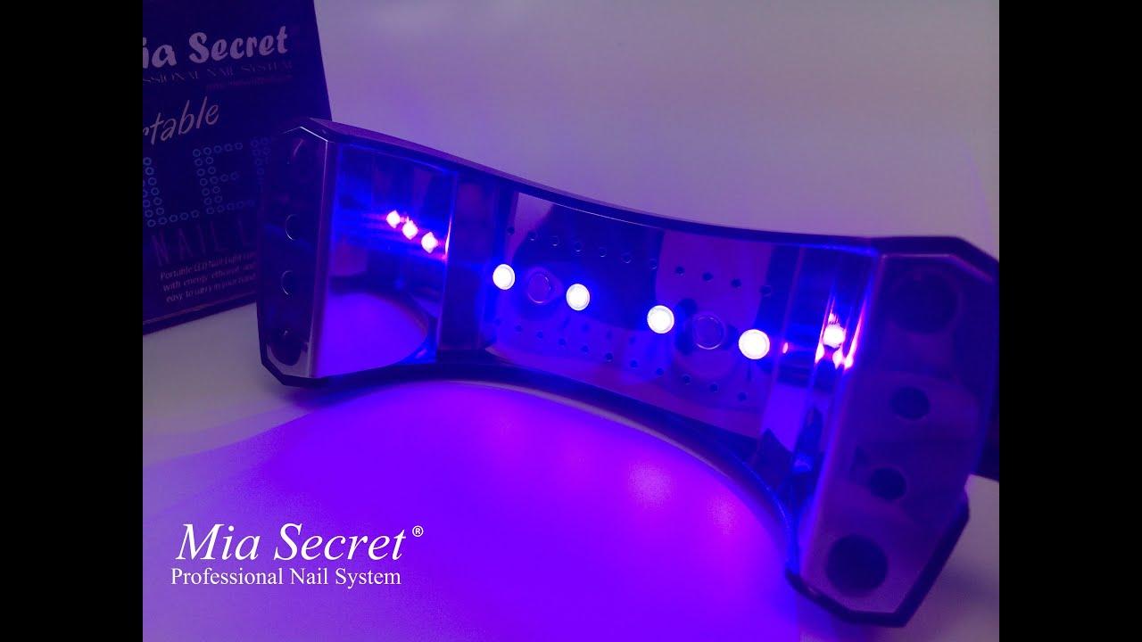 Mia Secret | Lámpara LED Para Uñas - YouTube