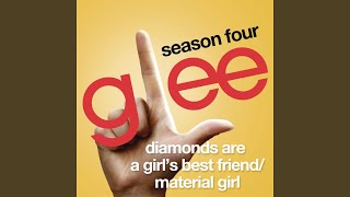Watch Glee Cast Diamonds Are A Girls Best Friend  Material Girl video