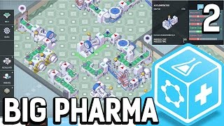 Big Pharma #2 Am Rande des Ruins Der Pillen Fabrik Simulator BETA Gameplay