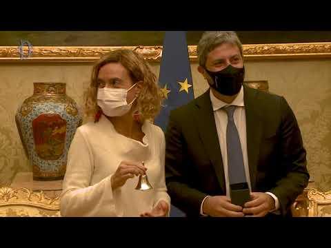 Il Presidente Fico incontra Meritxell Batet