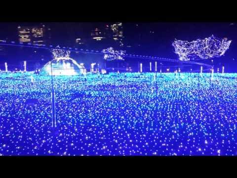 Tokyo Midtown Starlight Garden LED Light Display in Roppongi
