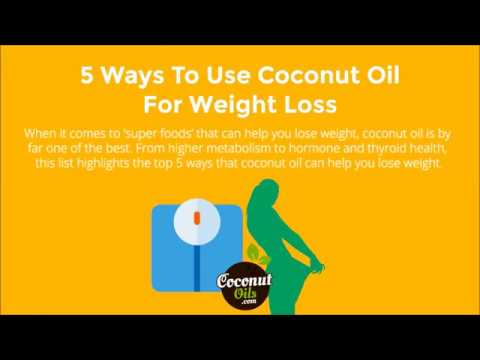 5 Ways To Use Coconut Oil For Weight Loss