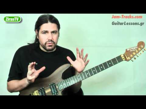 What Can You Play Over A Minor Chord? Part4 (Harmonic Minor)   Lick Of The Week 108