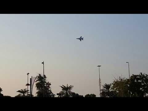 UAE 46th National Day Full Air Show in Abu Dhabi corniche 2nd December 2017 Part 1 Full HD