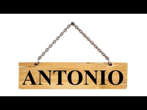 Nombres En Hebreo Antonio Antony א נ תו נ י Youtube