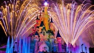 🎆Диснейленд Вечернее Шоу 25 лет - Disney illuminations 2018 - Чистый звук