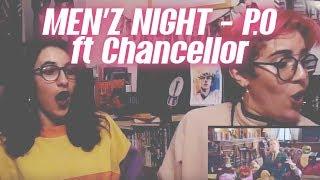 REACTION KPOP : MEN'Z NIGHT - P.O ft Chancellor (from Block B) + INFO BLOCK B
