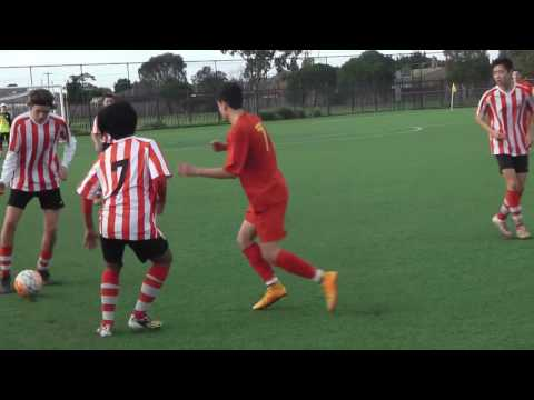U16A Barnstoneworth Utd Jnr FC vs Hoppers Crossing SC  - Rnd 9 - 12-06-2016