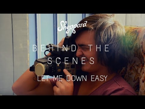 Let Me Down Easy Shoot (Behind The Scenes)