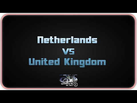NationsCup XX - United Kingdom vs Netherlands