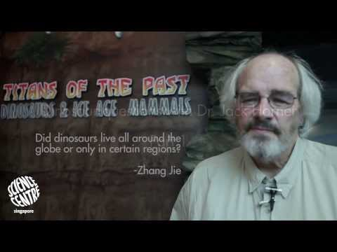 Dr. Jack Horner answers your dino questions - Part 1