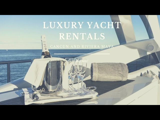 Top YACHT RENTALS CANCUN - Cancun Yacht rentals, luxury, private tour, charter, snorkeling trips.