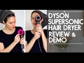 DYSON SUPERSONIC Hair Dryer Review & Demo