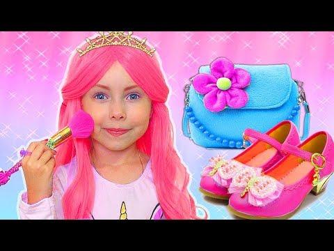 Alice y sus hermosas princesas se visten
