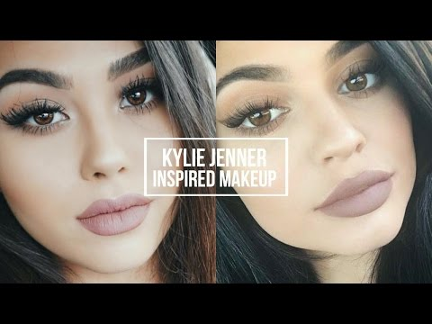 Natural Smoky Eye and Classic Kylie Lip